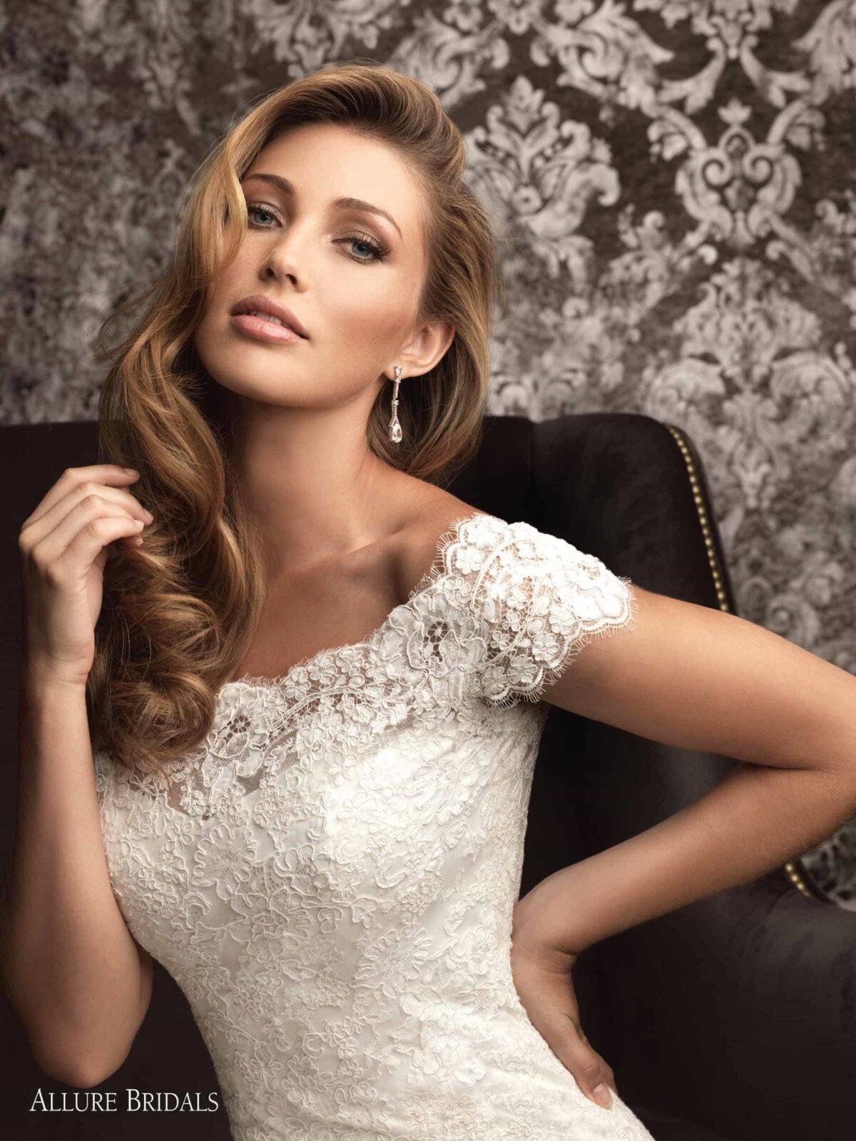 پارچه دانتل لباس عروس Fashion Forward #2608035 - Weddbook