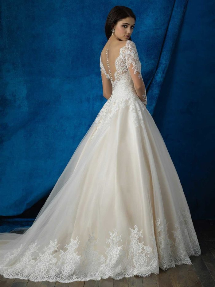 Allure Bridal 9366 2