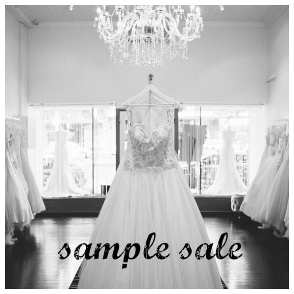 Sample sale, pic of store
