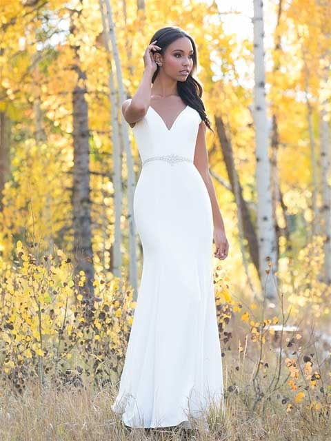 Allure Romance 3101 front with belt outside