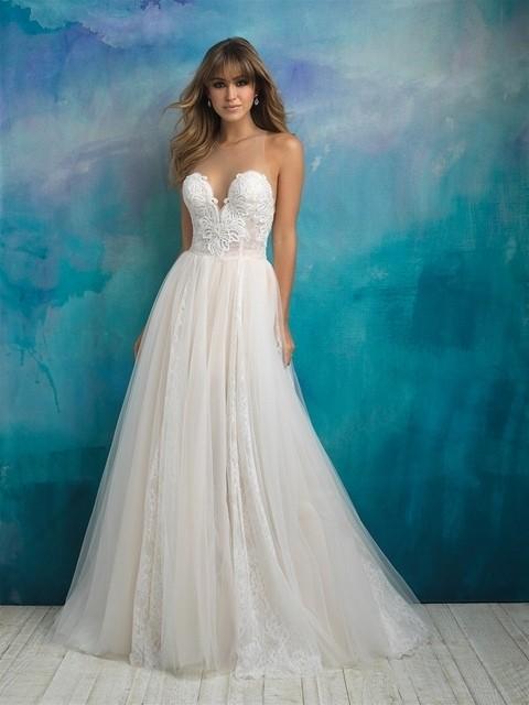Allure Bridals 9505 front