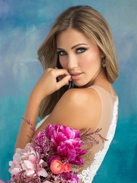 Allure Bridals 9510 side top