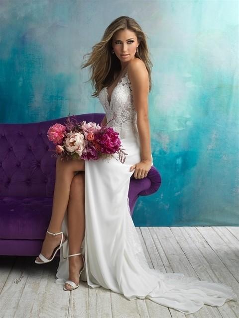 Allure Bridals 9510 sitting