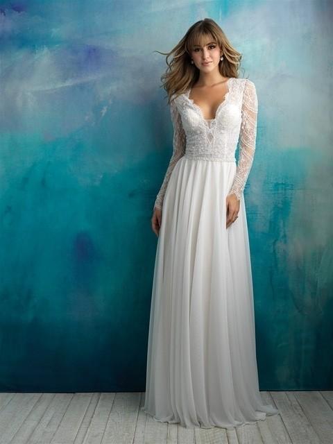 Allure Bridals 9515 front