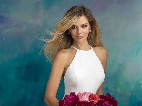 Allure Bridals 9521 front top half
