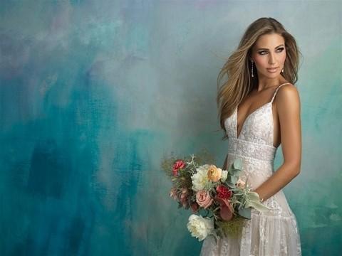 Allure Bridals 9526 top half