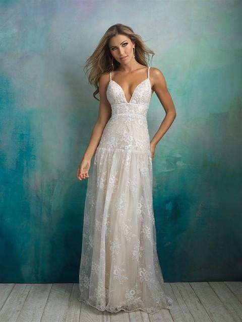 Allure Bridals 9526 front