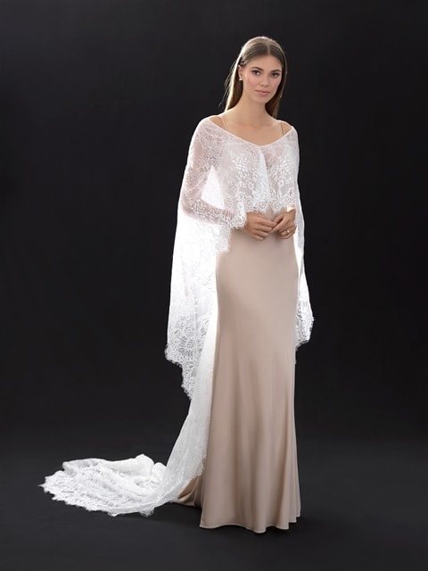 Allure bridals cape CP29 front