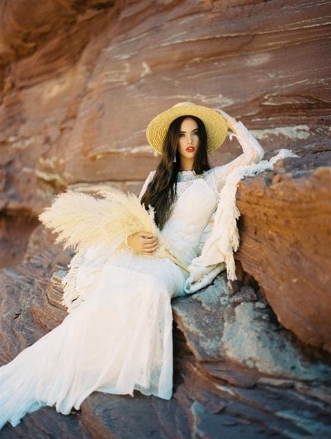 Wilderly Bride - Marigold sitting front