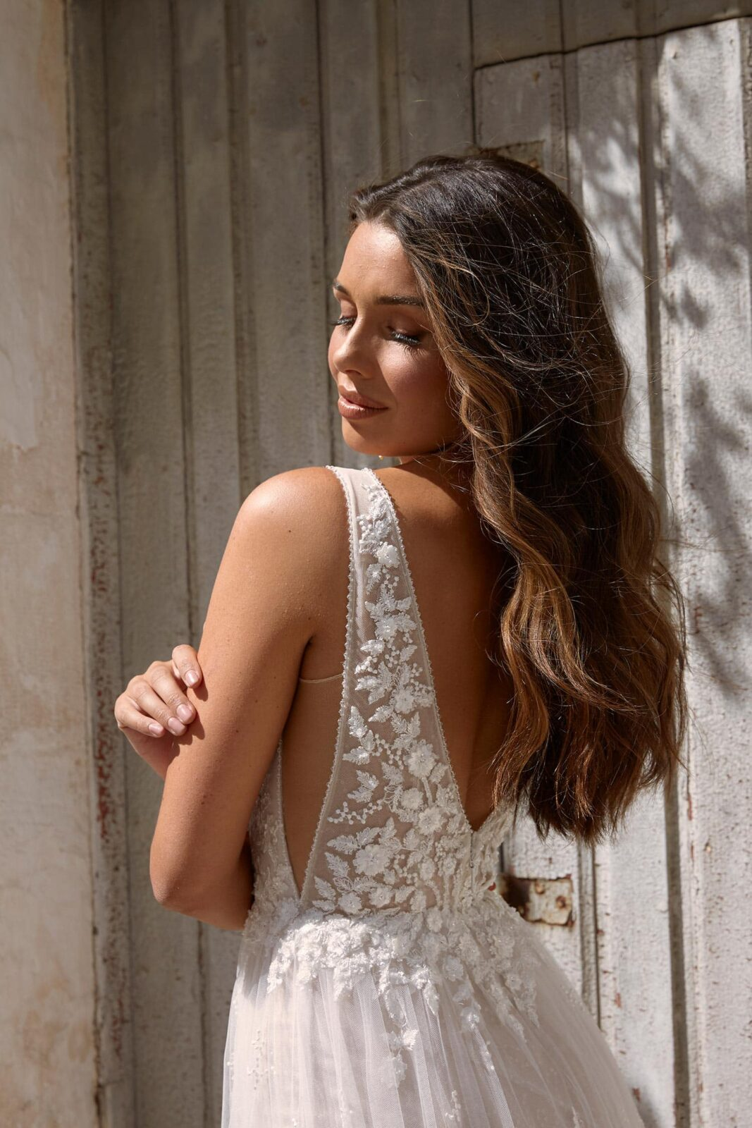MAISIE-ML11365-FULL-LENGTH-FLORAL-LACE-WITH-PLUNGING-NECK-WEDDING-DRESS-MADI-LANE-BRIDAL5