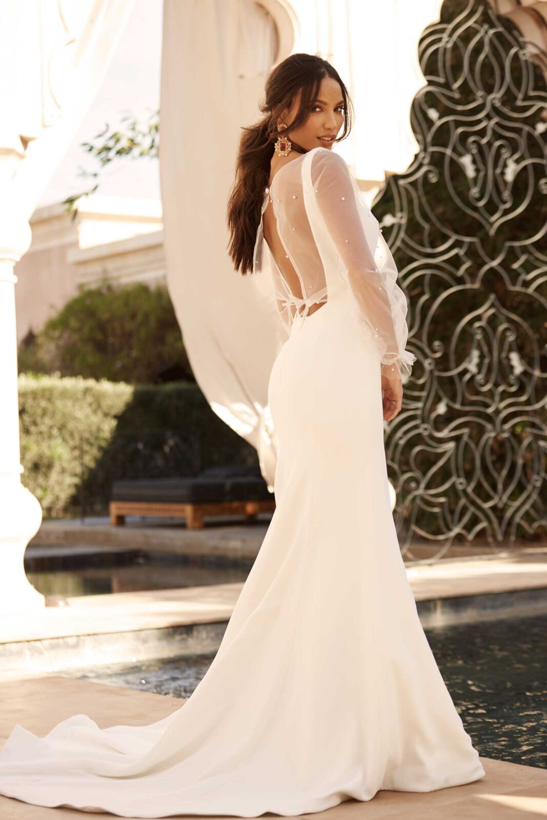 AIDEN-ML16113-FULL-LENGTH-FITTED-CREPE-GOWN-LOW-BACK-WITH-ZIP-CLOSURE-AND-DETACHABLE-JACKET-WEDDING-DRESS-MADI-LANE-BRIDAL3